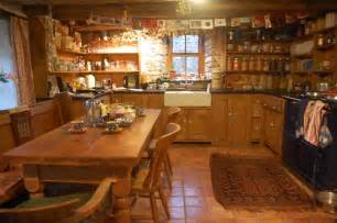 the mill farmhouse kitchen always warm and toasty by the
