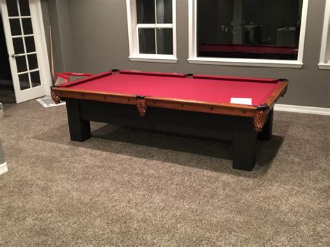 brunswick pool table assembly used antique brunswick 9 pool table assembly in