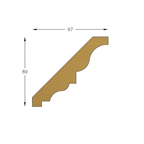 Cornice Profiles Moulding C997 Southern Yellow Pine Cornices Wrp