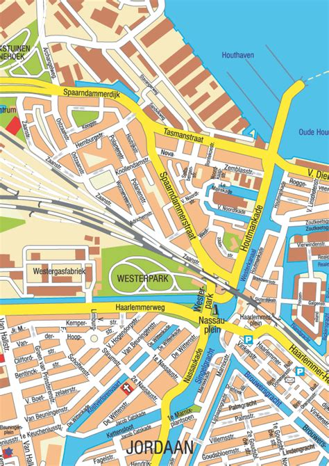 Amsterdam Museums Map Amsterdam Map A3 Amsterdam Info