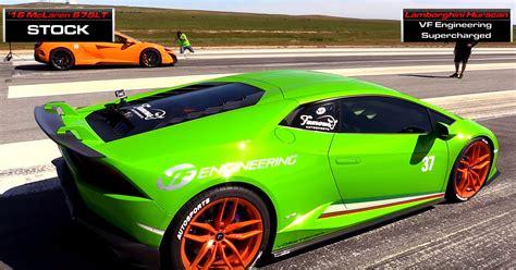Lamborghini Stock Exoticsboost Vf Engineering Supercharged Lamborghini