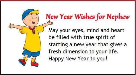 happy new year wishes for nephew nywq
