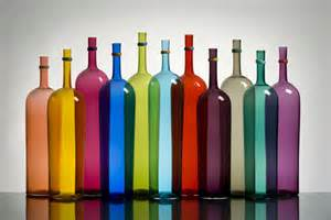 colored wine bottles chad s celebration shop registry