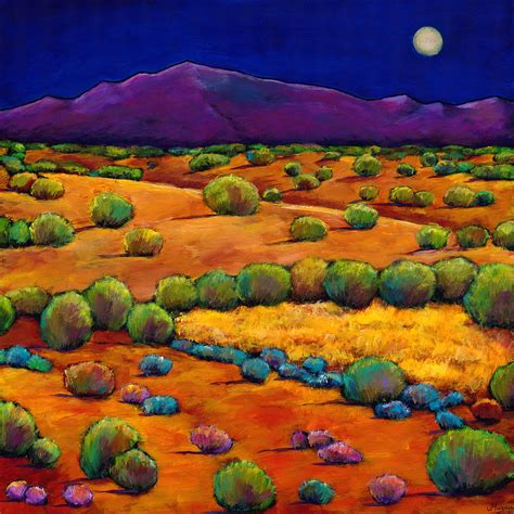 paint nite santa fe midnight sagebrush painting by johnathan harris
