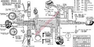 pin diagrama suzuki t500 ii large on