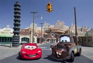 new cars in california cars land disney s california adventure images collider
