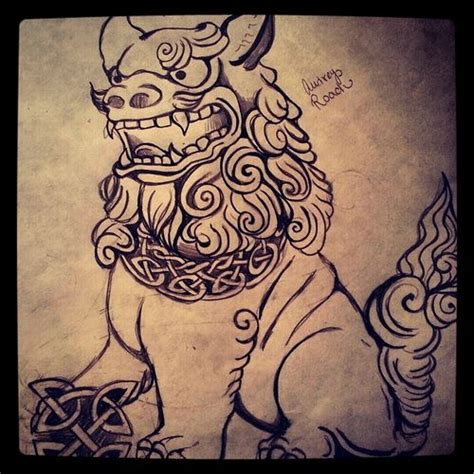 shisa tattoo fu shisa and tatting