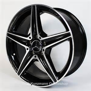 amg 18 inch alloy wheel set mercedes c class w205