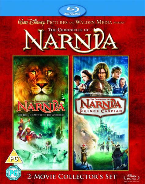 narnia film box set chronicles of narnia the lion the witch prince