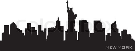 city of glass the graphic novel new york trilogy skyline new york detaillierte vektor silhouette