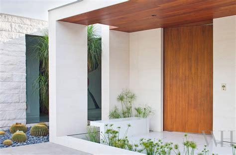 Modern House Door mid century modern house in california