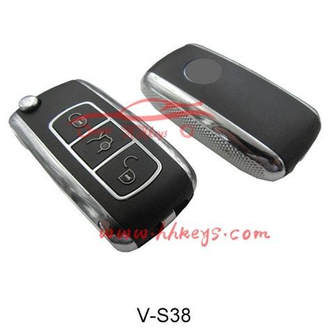 bentley style vw  buttons flip remote key shell
