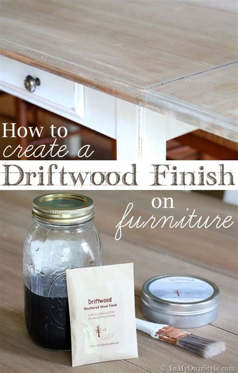furniture makeover weathered driftwood furniture finish in my own style