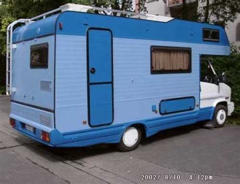 Wohnmobil Mit Rolle Lackieren by Adriatik Adria 550 D Blaues Womo Wohnmobil Aquamobil