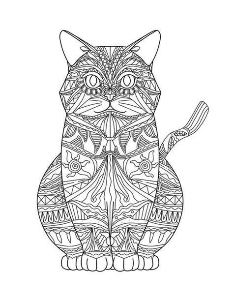 mandala coloring pages cat mandalas de gatos imprimir coloring animals