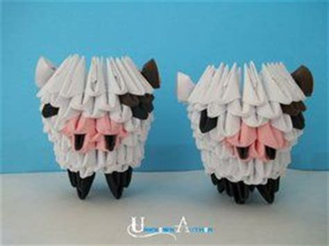 3d Origami Sheep - origami sheep origami origami sheep and