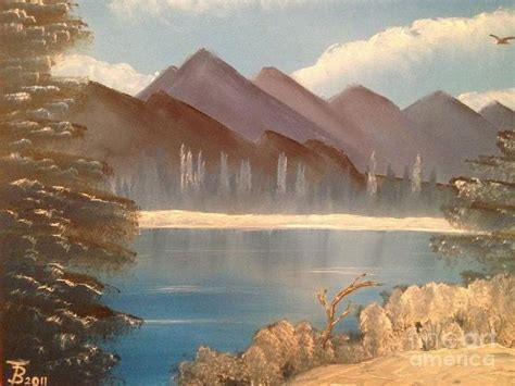bob ross painting lake bob ross chilly mountain lake paintings bob ross