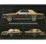 1980 Chrysler Cordoba  Information And Photos MOMENTcar