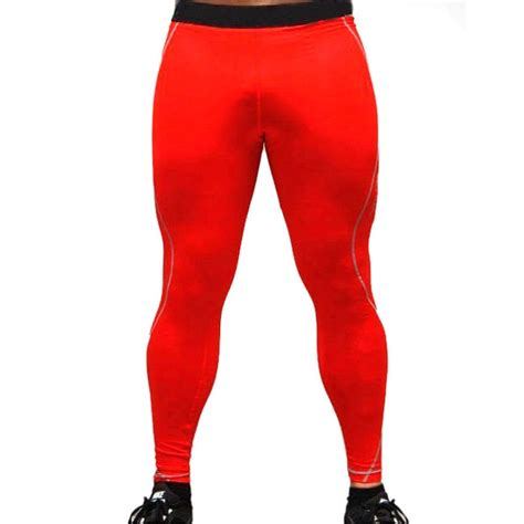 mens joggers tights pants training sport trousers