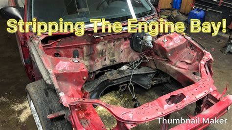 wire tuck  clean   engine bay part  honda civic ek hatch project youtube