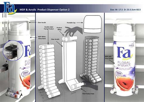 Dispenser Bbm Fa Floral Product Dispenser On Behance