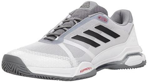 adidas performance s barricade club tennis shoe white black grey 11 m us discount