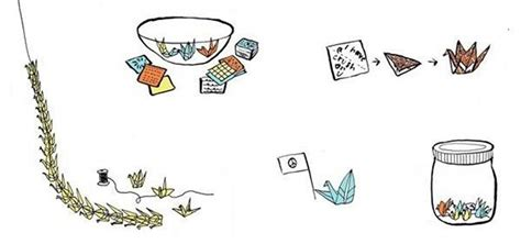Things To Do With Origami Paper - 5 cool things to do with origami paper cranes 171 the secret