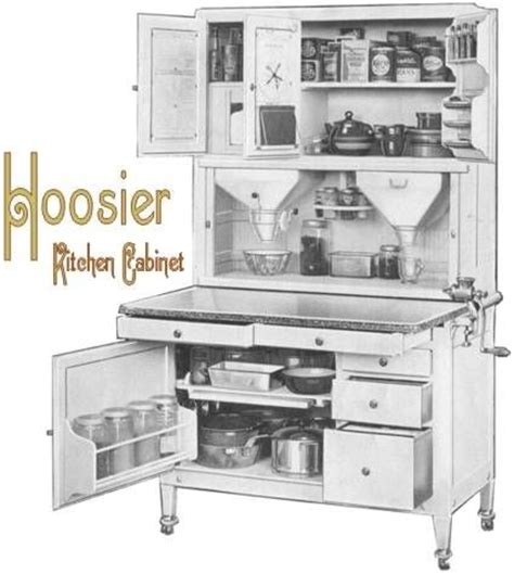 17 best images about hoosier hoosier style cabinet ads