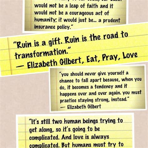 eat pray book report eat pray quotes best quotesgram