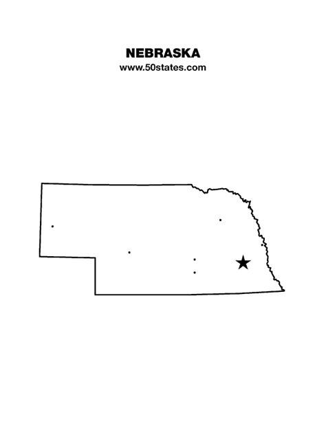 us map nebraska state nebraska map