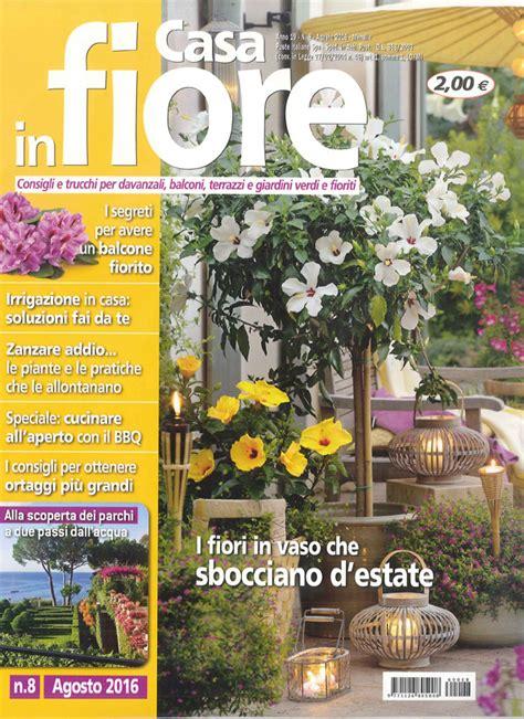 casa in fiore rivista sulla rivista casa in fiore il belvedere di ponza