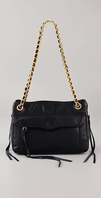 Bag Beckham Beky 8818 beckham black gold chain bag popsugar fashion
