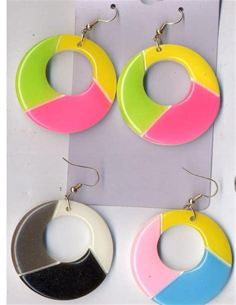 80s Accessories Earrings by 80s Fashion Style Earrings
