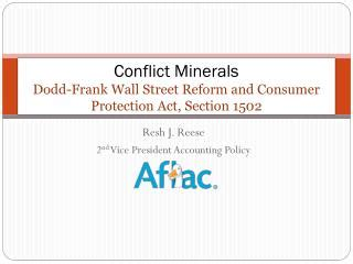 section 1502 of the dodd frank act ppt dodd frank wall street reform and consumer