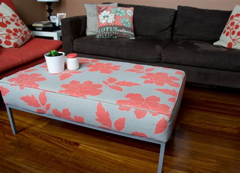Printed Ottoman Coffee Table J N And Co Klubbo Turns Lovely Peony Printed