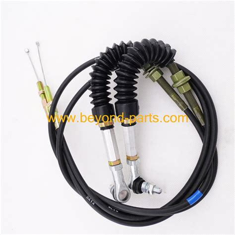 caterpillar accelerator cable eb ec excavator throttle cable    china