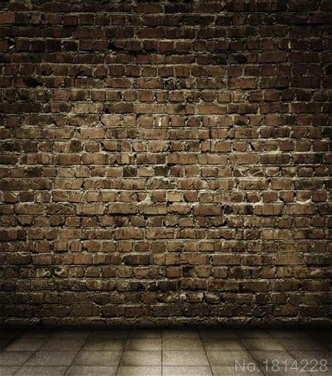 wallpaper design batu bata 3x5ft menyesuaikan latar belakang persegi lantai ubin batu