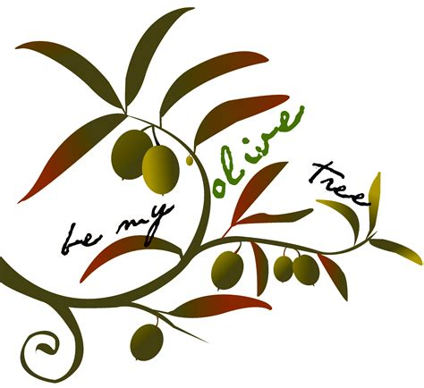 olive art barren clipart olive tree pencil and in color barren