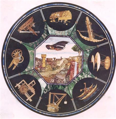 tisch meaning the leonardo da vinci table scagliola from the italian