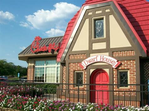 dwarf house dwarf house chic fil a with the little red door picture of pleasant hill dwarf