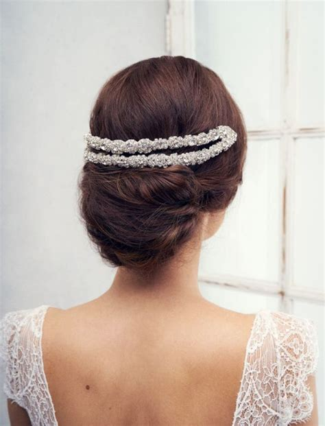 Wedding Hairstyles Headpiece by Wedding Hairstyles Featured Headpiece Cbell 194