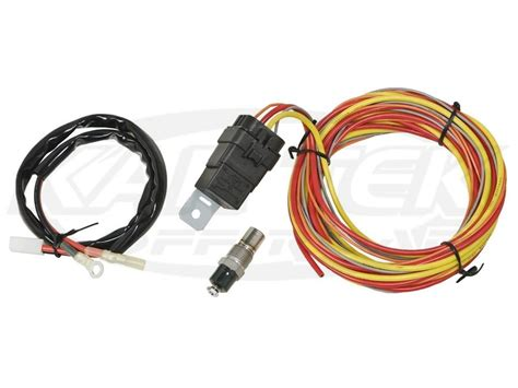 Spal Fan Relay And Wiring Harness Kit Does Not Include A