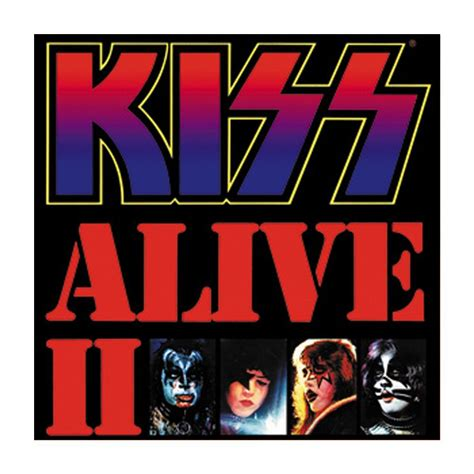 Home Decor Items by Kiss Alive Ii Magnet