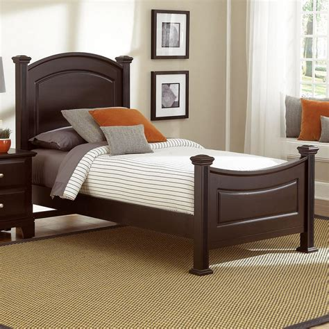 bassett beds vaughan bassett hamilton franklin twin panel bed value