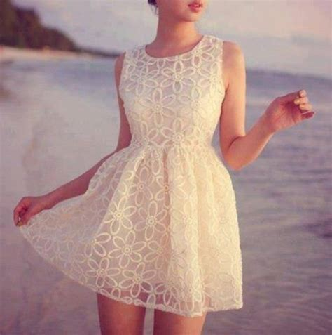 Dress White Pretty pretty white lace summer dress pictures photos and