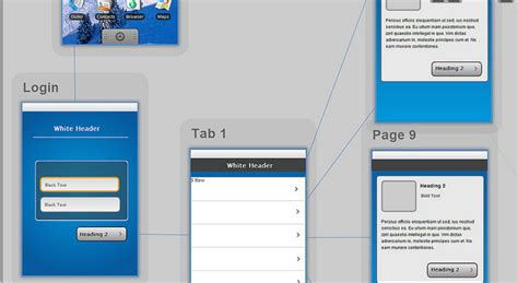Tips For Wireframing A Usable Mobile App Interface App Mockup Template