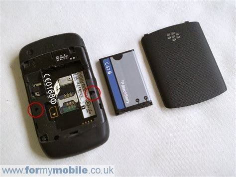 Casing Blackberry 9330 blackberry curve 3g 9300 disassembly screen replacement