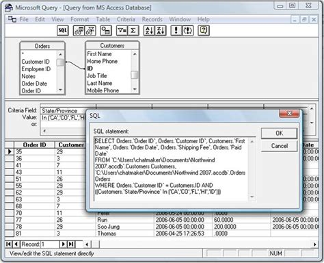 microsoft query tutorial excel 2010 how to use microsoft query to merge two excel files 2010