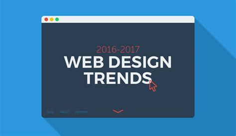 homepage design 2016 2016 2017 web design trends predictions kooldesignmaker