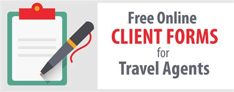travel agency forms templates free travel forms templates for travel agencies